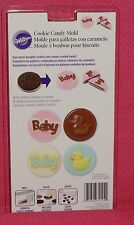 Baby Chocolate Cookie/Candy Mold, Wilton,Clear Plastic,2115-2124,Chocolate mold