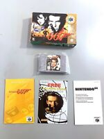 GoldenEye 007 (Nintendo 64, N64) Complete in Box Authentic Player's Choice CIB