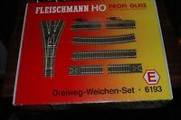 Fleischmann HO Gauge Track Set E - 6193