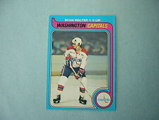 1979/80 O-PEE-CHEE NHL HOCKEY CARD #236 RYAN WALTER ROOKIE NM SHARP!! 79/80 OPC