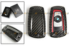 LUXURY CARBON FIBER CASE COVER FOR BMW F30 F32 F22 F10 F80 F82 KEY FOB REMOTE