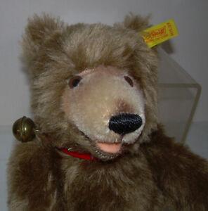 "Vintage 9"" Steiff Sitting Teddy Bear w/ Movable Legs Arms & Glass Eyes"