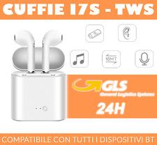 Italy's Cartridge i7S TWS Mini Auricolari Bluetooth Senza Fili - Bianchi