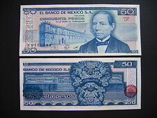 México 50 pesos 27.1.1981 serie LP (p73) UNC