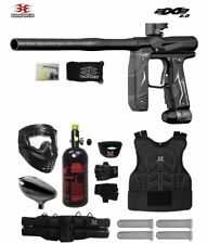 Maddog Empire Axe 2.0 Starter Protective Hpa Paintball Gun Package Dust Black