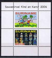 Surinam / Suriname 2006 Childcare / christmas S/S MNH
