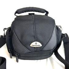 Samsonite Black Padded Camera Bag with Shoulder Strap