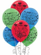 PJ Masks Printed Latex Balloons Birthday Decorations Party Supplies Favors ~ 6ct