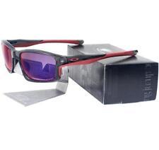 4c5b1cfb696 Oakley OO 9247-10 Chainlink Grey Smoke w  Polarized OO Red Iridium  Sunglasses .