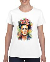 Frida Kahlo Mexican Artist Ladies T Shirt