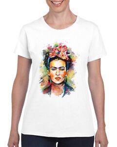 Frida Kahlo Mexican Artist Ladies T Shirt