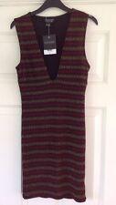 Topshop Mini Dress, UK size 8, Metallic BNWT