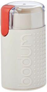 Bodum Bistro Off White Electric Coffee Grinder (Model Number: 11160-01AUS-3)