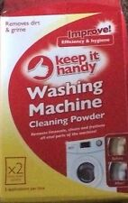 KEEP IT HANDY WASHING MACHINE CLEANING POWDER REMOVES DIRT AND GRIME