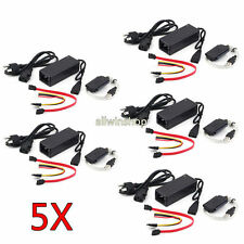 """5X SATA/IDE to USB 2.0 Adapter Converter Cable for 2.5"""" /3.5"""" Inch Hard Drive OU"""