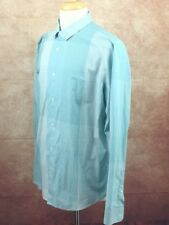 Calvin Klein Infinite Cool Non Iron Long Sleeve Spread Collar Shirt Men's XL 17