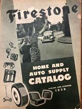 1939-40 Firestone Spring Summer Catalog Auto Supplies,Tires, Bicycles  etc