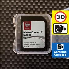 Nissan Connect 2 V5 Europe Navigation Map SD card 2020/2021 Juke Leaf Micra Note