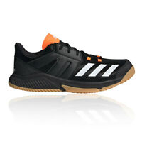 adidas Mens Essence Indoor Court Shoes- Black Sports Tennis Handball Breathable