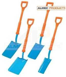OX Tools Insulated Cable Trenching Wide Digging Shovel Spade Construction