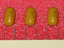 100uF 10% 20V Radial Tantalum Caps, Kemet T354M107K020 - 5 pc lots