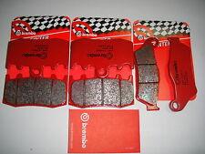 2 coppie pastiglie freno Anteriori Brembo rosse Sinter BMW R1200 S 2006 2007