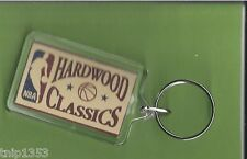 New NBA Hardwood Classic Basketball Plastic Key Chain