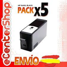 5 Cartuchos de Tinta Negra NON-OEM HP 364XL - Photosmart 5510 e-All-in-One