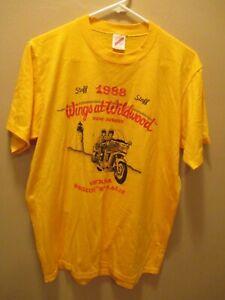 GOLD WING GWRRA MOTORCYCLE RALLY 1988 NJ t-shirt L Single Stitch Honda Vintage