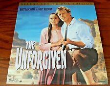 THE UNFORGIVEN - (2) LASERDISC SET - LETTER-BOX EDITION