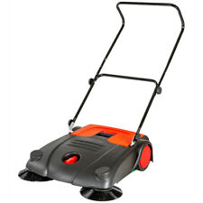 Spazzatrice manuale a spinta pulitrice 20 litri larghezza di lavoro 70 cm nuovo