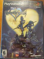 Kingdom Hearts - (PlayStation 2, 2004) PS2 Classic Vintage Square soft HTF RARE