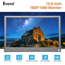 "Eyoyo 15.6"" IPS Monitor 1920*1080 HDR Second Screen USB-C/HDMI 178° for X-box"