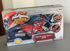 BANDAI# POWER RANGERS OVEDRIVE RED MOTO CYCLE #NIB