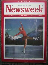 2/17/1947 Newsweek - The Magazine of News Significance - 'Glamour on Ice' Cover