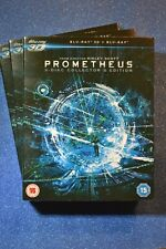 Brand New & Sealed with slip cover PROMETHEUS 3D Blu-Ray (3 Discs) Ridley Scott