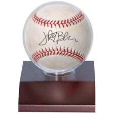 Ultra Pro Wood Base Baseball Holder (Dark Wood) Ball Display Wooden Stand New