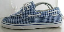 Womens Vans TB4R Classic Canvas Skate Shoes Size: 6.5 Color: Blue
