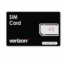 Verizon WIreless Universal 3 IN 1 Sim Card 4G LTE with SIM Card Holder and Pin