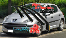 PEUGEOT 207 5D 2006 - 2016 HATCHBACK  Wind deflectors  4.pc  HEKO  26128