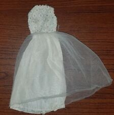 Vintage Fab Lu Babs 1960's Barbie Clone Wedding Dress Tagged