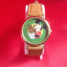 NEW 1991 Mickey Mouse Watch Teddy Bear Convention Walt Disney World VERY RARE