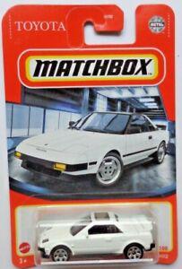 Matchbox 2021 1984 Toyota MR2 14/100