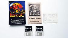 Island of lost Hope Commodore Amiga OVP Boxed Game Spiel CIB US Version WORKS
