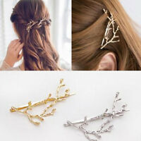 Women Girls Metal Tree Branches Hairpin Hair Clips Headwear Decor Accessories