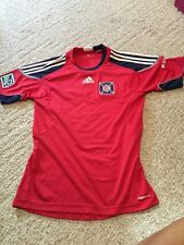 adidas MLS  Chicago Fire Soccer Jersey SMALL