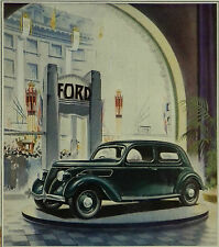The Ford V8 22 1937 1 Page Advert