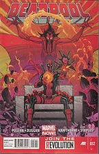 [Shelf 1-24] Marvel Deadpool # 12 August 2013 Posehn Duggan Hawthorne Comic
