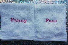 Embroidered Flannels Fanny and Face Gift
