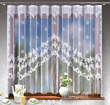 JARDINIERE NET CURTAIN Bianco Decorazione Interior Design Home Decor Pannello